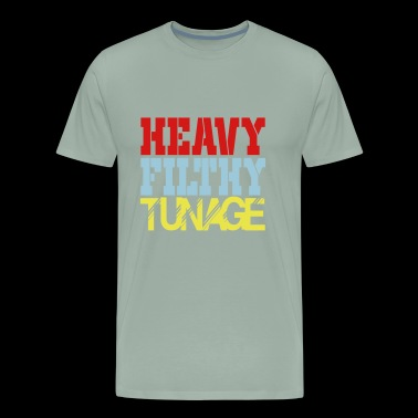 heavy filthy bass - Men's Premium T-Shirt