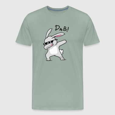 Dabbing Easter Bunny Shirt for Boys Girls Adults - Men's Premium T-Shirt