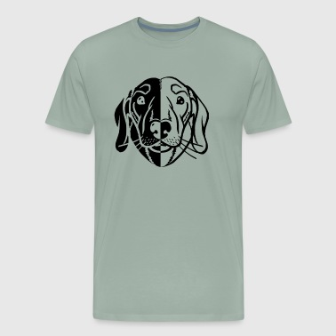 Dachshund Head Shirt - Men's Premium T-Shirt