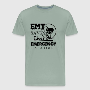 EMT Saving Lives Shirt - Men's Premium T-Shirt