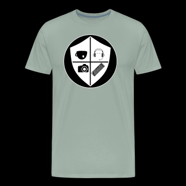 The Maskless Boy Crest (Inverted) - Men's Premium T-Shirt