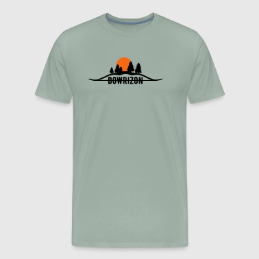 Bowrizon (Archery by BOWTIQUE) - Men's Premium T-Shirt