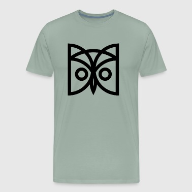 Roberts Field - Black Owl - Men's Premium T-Shirt