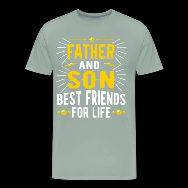 father and son best friends for life t-shirt gift - Men's Premium T-Shirt