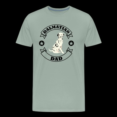 Dalmatian Dad - Gift idea for Dog Owners - Men's Premium T-Shirt