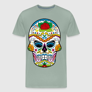 sugar skull - Men's Premium T-Shirt