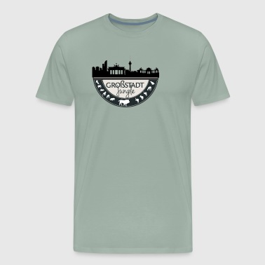 Big City Jungle. Berlin - Men's Premium T-Shirt