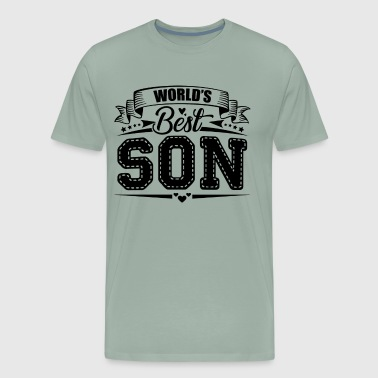 World's Best Son Shirt - Men's Premium T-Shirt