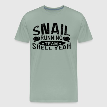 Snail Running Team Shirt - Men's Premium T-Shirt