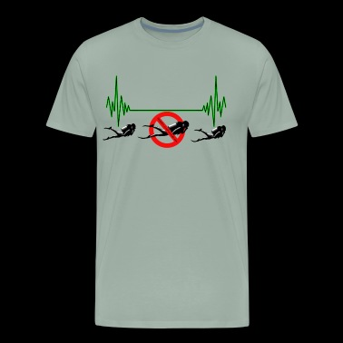 Divers Heart Rate - Men's Premium T-Shirt