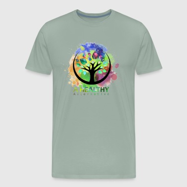 A Healthy Alternative Watercolor ALT - Men's Premium T-Shirt