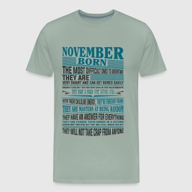 Best selling Born in November present - Men's Premium T-Shirt