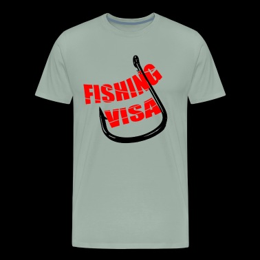 FISHING VISA T-SHIRT - Men's Premium T-Shirt