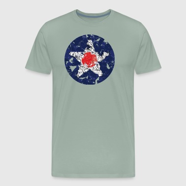 US Air Force Vintage Roundel - Men's Premium T-Shirt