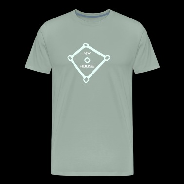 Logopit myhouse by Harry Cornier - Men's Premium T-Shirt