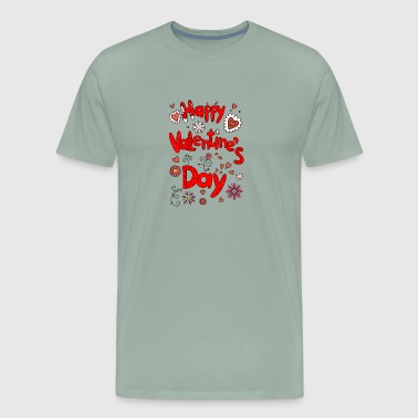 Happy Valentines Day 6 - Men's Premium T-Shirt