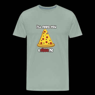 Eat Me Pizza - Men's Premium T-Shirt
