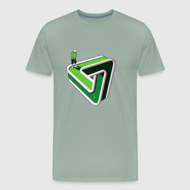 Puzzled Putter - Men's Premium T-Shirt