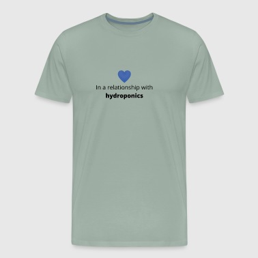 gift single taken relationship with hydroponics - Men's Premium T-Shirt