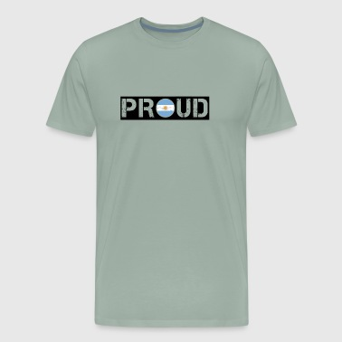 PROUD ROOTS HOME LOVE GESCHENK Argentinien - Men's Premium T-Shirt
