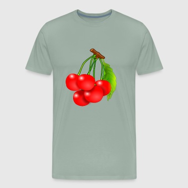 Cherry Tree - Men's Premium T-Shirt