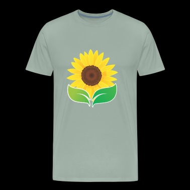 Nature Sun Flower Yellow - Men's Premium T-Shirt