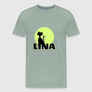 Lina first name - Men's Premium T-Shirt