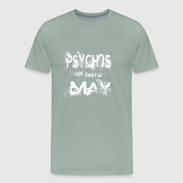 Heroes are Born in May Birthday Month Gift May - Men's Premium T-Shirt