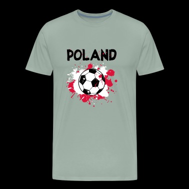 Poland Soccer Shirt Fan Football Gift Funny Cool - Men's Premium T-Shirt