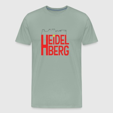 RED heidelberg - Men's Premium T-Shirt