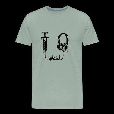 Music addict - Men's Premium T-Shirt