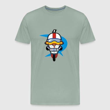 Hello Gizmo wall - Men's Premium T-Shirt