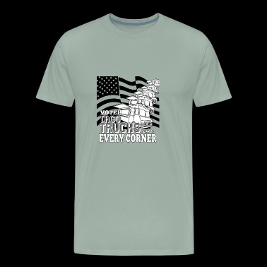 Vote Taco Trucks on Every Corner - Men's Premium T-Shirt