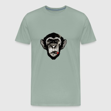 Cigar Chimp - Men's Premium T-Shirt