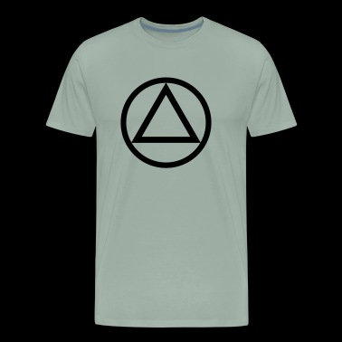 The Circle and Triangle of Recovery - Men's Premium T-Shirt