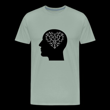 Heart Brain - Men's Premium T-Shirt