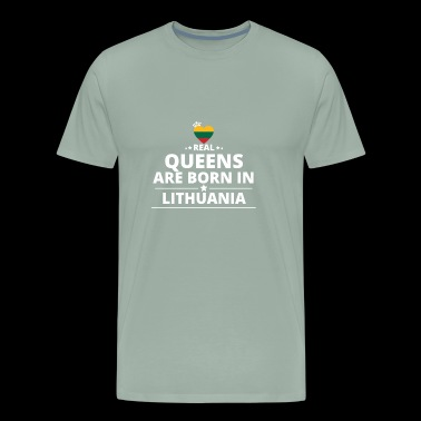 queens from geschenk i love LITHUANIA - Men's Premium T-Shirt