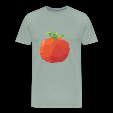 Polygonal Tomato - Men's Premium T-Shirt