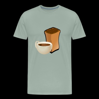 coffe cup kaffee tasse tea tee2 - Men's Premium T-Shirt