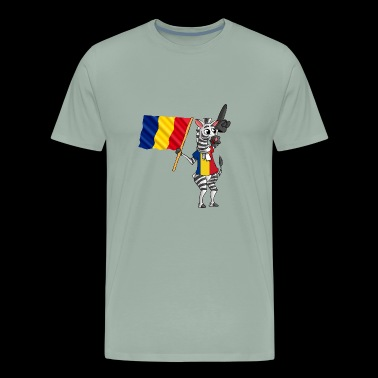 A Romanian Zebra - Men's Premium T-Shirt