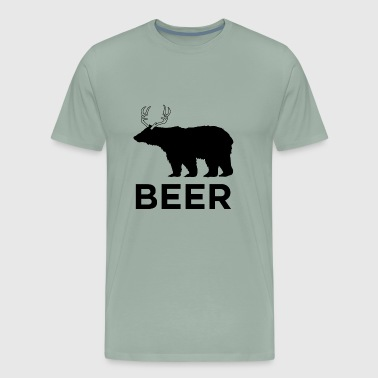 Bear Deer - Men's Premium T-Shirt
