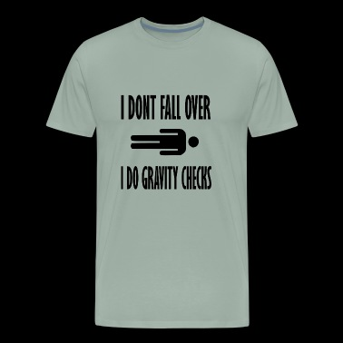 gravity checks - Men's Premium T-Shirt