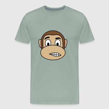 Nervous Monkey - Men's Premium T-Shirt