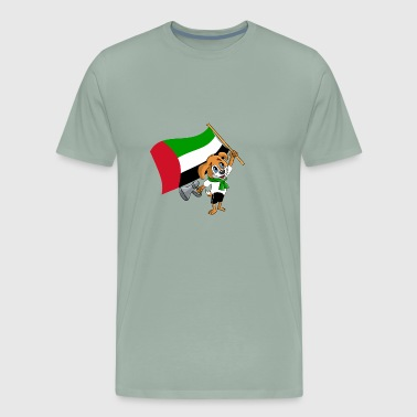 An Emiri Fan Dog - Men's Premium T-Shirt