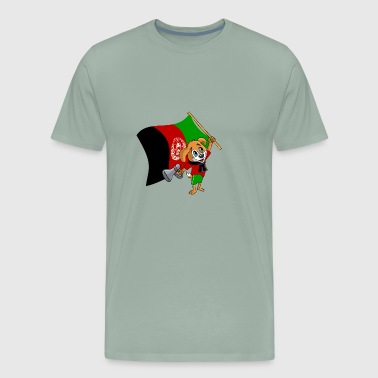 An Afghan Fan Dog - Men's Premium T-Shirt