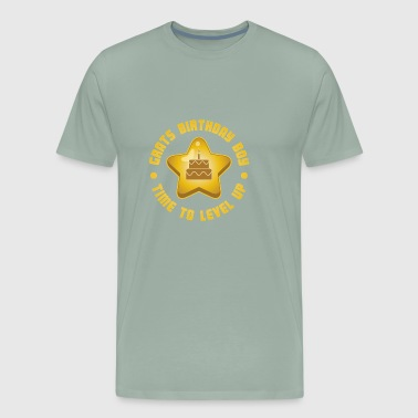 Grats Birthday Boy Time To Level Up Gift - Men's Premium T-Shirt