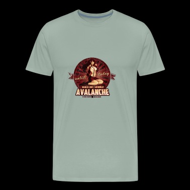 AVALANCHE Wants YOU - Men's Premium T-Shirt