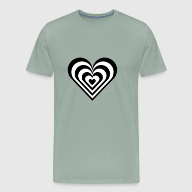 Cool heart - Men's Premium T-Shirt