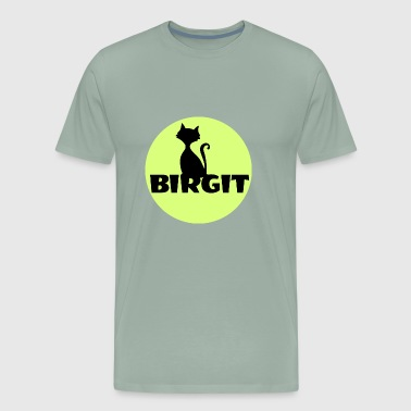 Birgit Name first name - Men's Premium T-Shirt