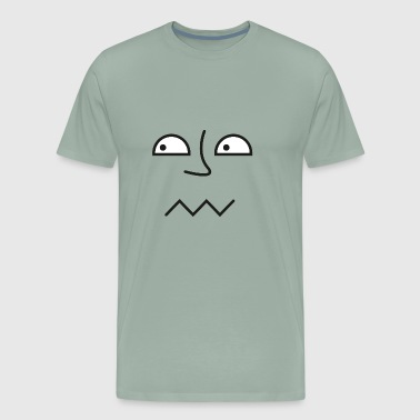GIFT - FUNNY FACE EYES - Men's Premium T-Shirt